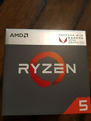AMD Ryzen 5 2400G - 3.6 GHz Quad-Core (YD2400C5FBBOX) Processor