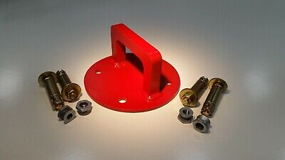 Extra Heavy Duty Wall/Ground Anchor Bracket ideal for Motorbike/Motorcycle.
