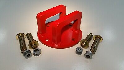 Double Heavy Duty High Security Wall/Ground Anchor Bracket ideal for Motorbike