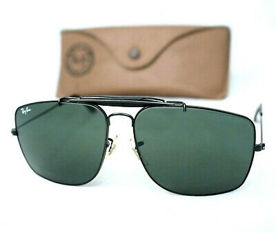 Ray Ban B&L USA sunglasses W0505 62mm caravan outdoorsman 62 large aviator vntg