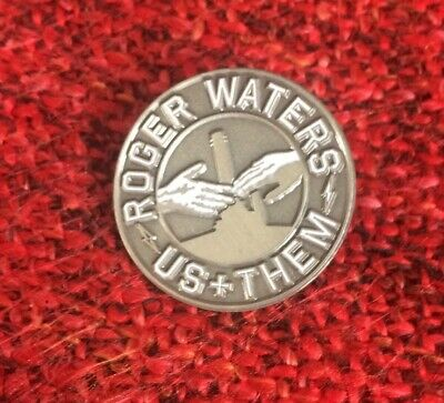Roger Waters Us + Them Tour VIP Merchandise Pin Badge,  Pink Floyd