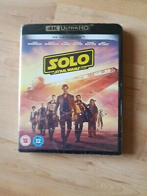 Solo A Star Wars Story 4K UHD Blu-Ray brand new sealed