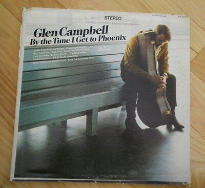 Glen Campbell:By the Time I Get to Phoenix -Capital Records-Stereo-Used LP ST285