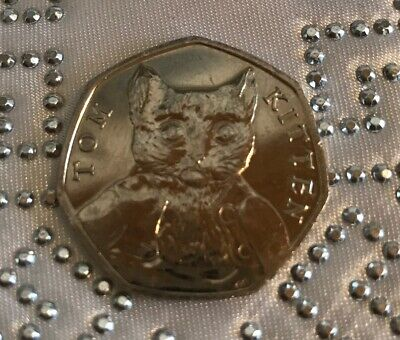 50p Coin 2017 Tom Kitten Circulated FREEPOST Beatrix Potter
