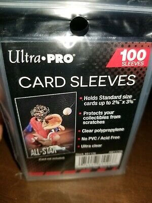 200 NEW SOFT PENNY ULTRA PRO BASEBALL CARD POLY SLEEVES fits 3X4 TOPLOADERS