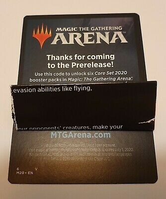 MTG Mint Singles - Core 2020 Prerelease Magic Arena Code | M20 | Digital deliver