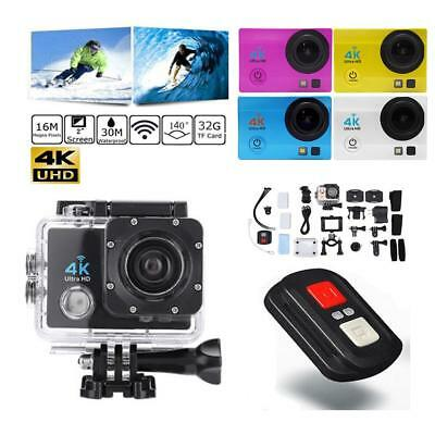 "SJ9000 2.0"" WiFi 1080P 4K Ultra HD Action Camera 30m Waterproof Sport DVR DV Cam"