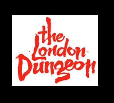 2 E - Tickets For The London Dungeon Sunday 15 September @ 1100