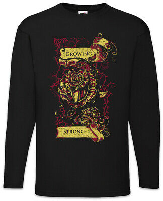 Growing Strong Long Sleeve T-Shirt Game of House Tyrell Sign Symbol Logo Thrones