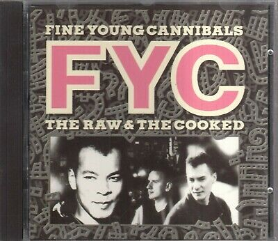FINE YOUNG CANNIBALS - The Raw & The Cooked (CD FFRR 1988)