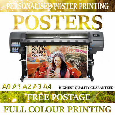 PRINTING SERVICE Print A0 A1 A2 A3 A4 posters Personalised Photo prints