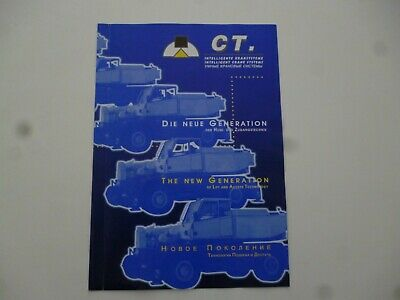Ct Intelligent Crane Systems Mobile Cranes Compact Truck Brochure *As Pictures*