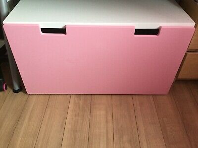 Swell Ikea Stuva Storage Bench Toy Box With Drawer Pink White Gmtry Best Dining Table And Chair Ideas Images Gmtryco