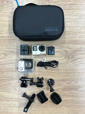 GoPro Hero4 Black Action Camera. Authentic GoPro Accessories. Full Action Kit.