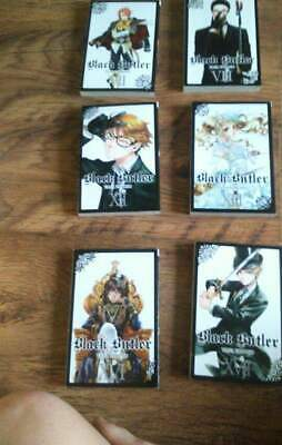 Black Butler Manga by Yana Toboso English graphic novel