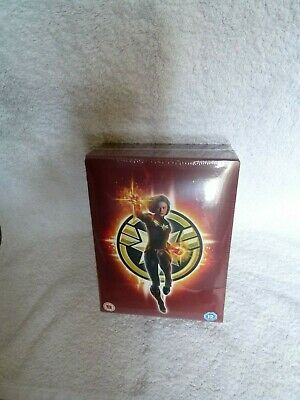 ZAVVI: Captain Marvel: 2D+3D: Special Collectors Box: BluRay Steelbook.1000 only