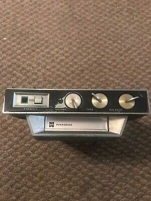 Vintage Panasonic Under Counter Deck 8 track tape player auto car Truck Home