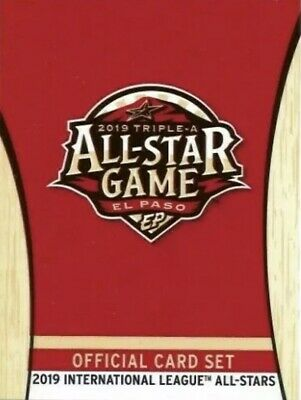 2019 International League All-Stars (Pick Your Cards)