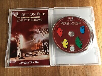 Queen-Queen On Fire-Live At The Bowl-2 Dvd Set-Complete Concert + Bonus Footage