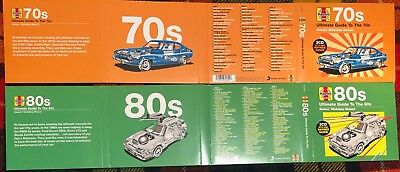VARIOUS - HAYNES ULTIMATE GUIDE TO THE 70's and 80's (6 x CD SETS)