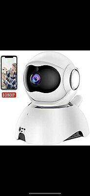 QZT FHD 1080P Wifi IP Camera, Home Security Cameras Wireless with Night Version