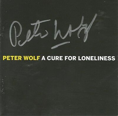 A Cure For Loneliness * by Peter Wolf (CD, 2016, Concord) Original Signed