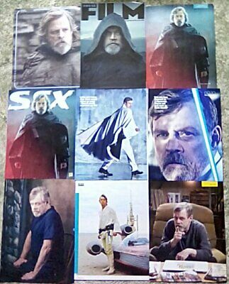 * Mark Hamill - Star Wars The Last Jedi - Clippings Pack 43 Full Pages GQ + *