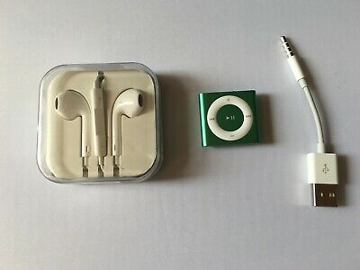 Apple iPod shuffle 4th Generation (2GB) Green mint
