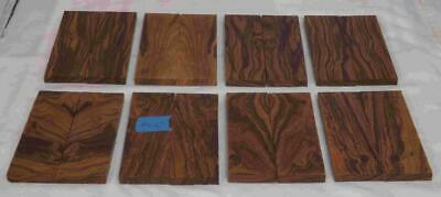 Desert Ironwood 8 pair bookmatched FLAWED knife scale 5.2 x 1.7 x .37 Group RP