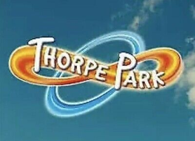 2 x Thorpe Park Resort Tickets : Monday 16/09/19 16th September 2019 Now In Hand