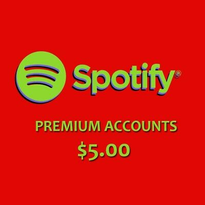 Spotify Premium | 5 ACCOUNTS | Cheap and FAST | CRACKED