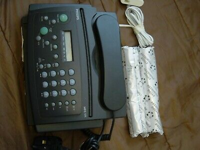Philips Fax Machine HFC 171 With 2 New Fax Rolls, Used,  but needs servicing