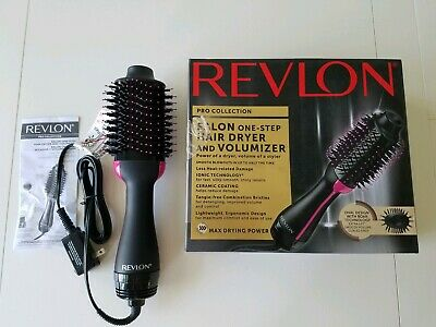 Revlon Pro Collection Salon One Step Hair Dryer and Volumizer OPENED BOX
