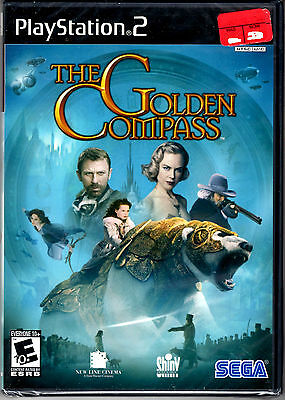 The Golden Compass Game For PS2 Playstation 2 NEW Sealed Black Label