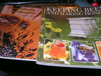 Huge Lot Bee Books 7 Beekeeper Honey New Apiary Problems Health Care Farming