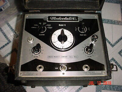 Antique Medcolator Quack Medicine Model K Medical Electro Shock Therapy Device