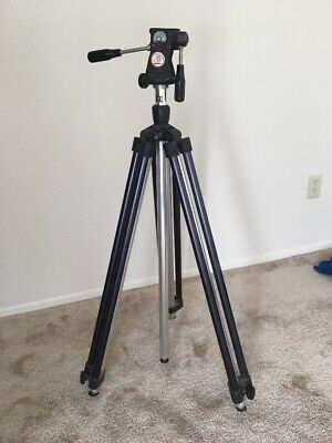 Vintage Graflex Model TR 3 III Aluminum Press Camera Tripod USA Made