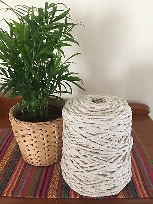 Macrame cord 5mm, approximately 1kg each approximately 170 metres $37.00 kg