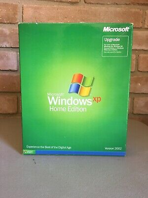 Microsoft Windows XP Home Edition - Upgrade complete with product key 2002