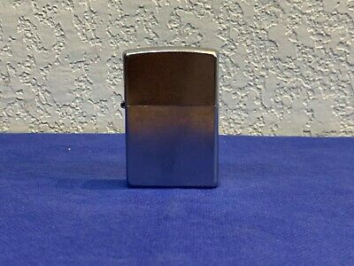 LOOK GOOD CONDITION FUNCTIONING Zippo Windproof Satin Finish Chrome Lighter z
