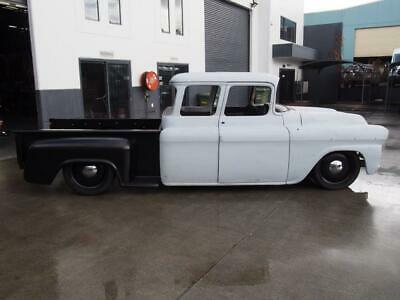 1959 Chevrolet Dual Cab Pickup Unfinished Project Truck Custom
