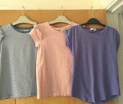 Next M&S Girls T Shirt Top Age 8-9 Years Next Girls - 3 Tops