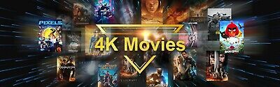 4K Uhd Movies = Blu-Ray - Like New  Vgc Drop Down Menu Free Postage