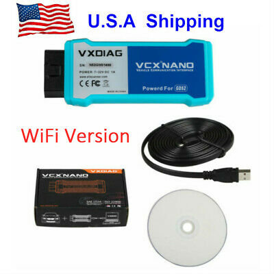 US Ship VXDIAG VCX NANO Multiple GDS2 and TIS2WEB Diagnostic Tool Wifi Version