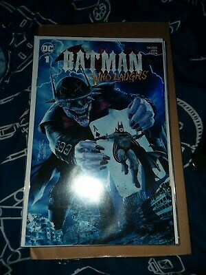 BATMAN WHO LAUGHS #1 NM Mike Mayhew Variant Trade Dress Variant In Hand