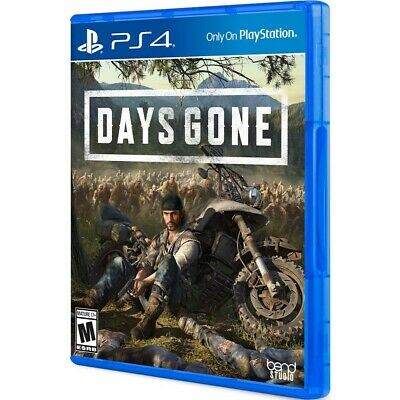 PLAYSTATION 4 :     DAYS GONE PS4  (mint condition like new - 60 hours of fun )