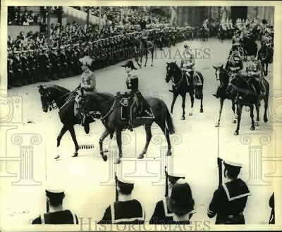 1937 Press Photo Dukes And Earls In Coronation Procession In London, England