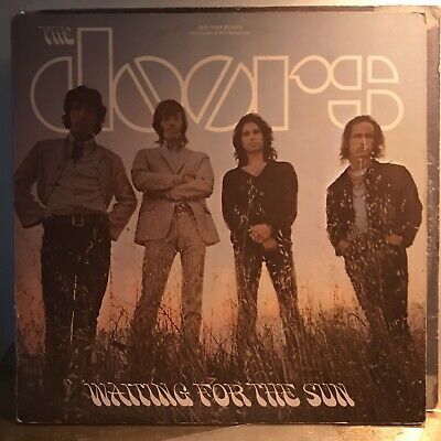 The Doors - Waiting For The Sun - Gold Label 1968 Vinyl LP Record
