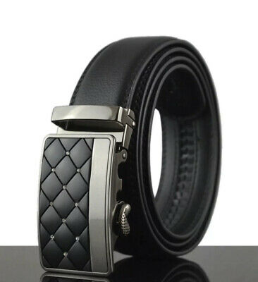 Mens Designer Belts Smart Automatic Luxury Diamond Ratchet Leather Belt For Men
