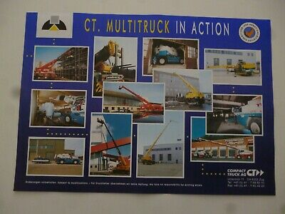 Ct  Intelligent Crane Systems Multitruck In Action Leaflet/Brochure *As Pictures